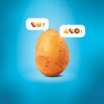 Emoji, dites le avec des pommes de terre !