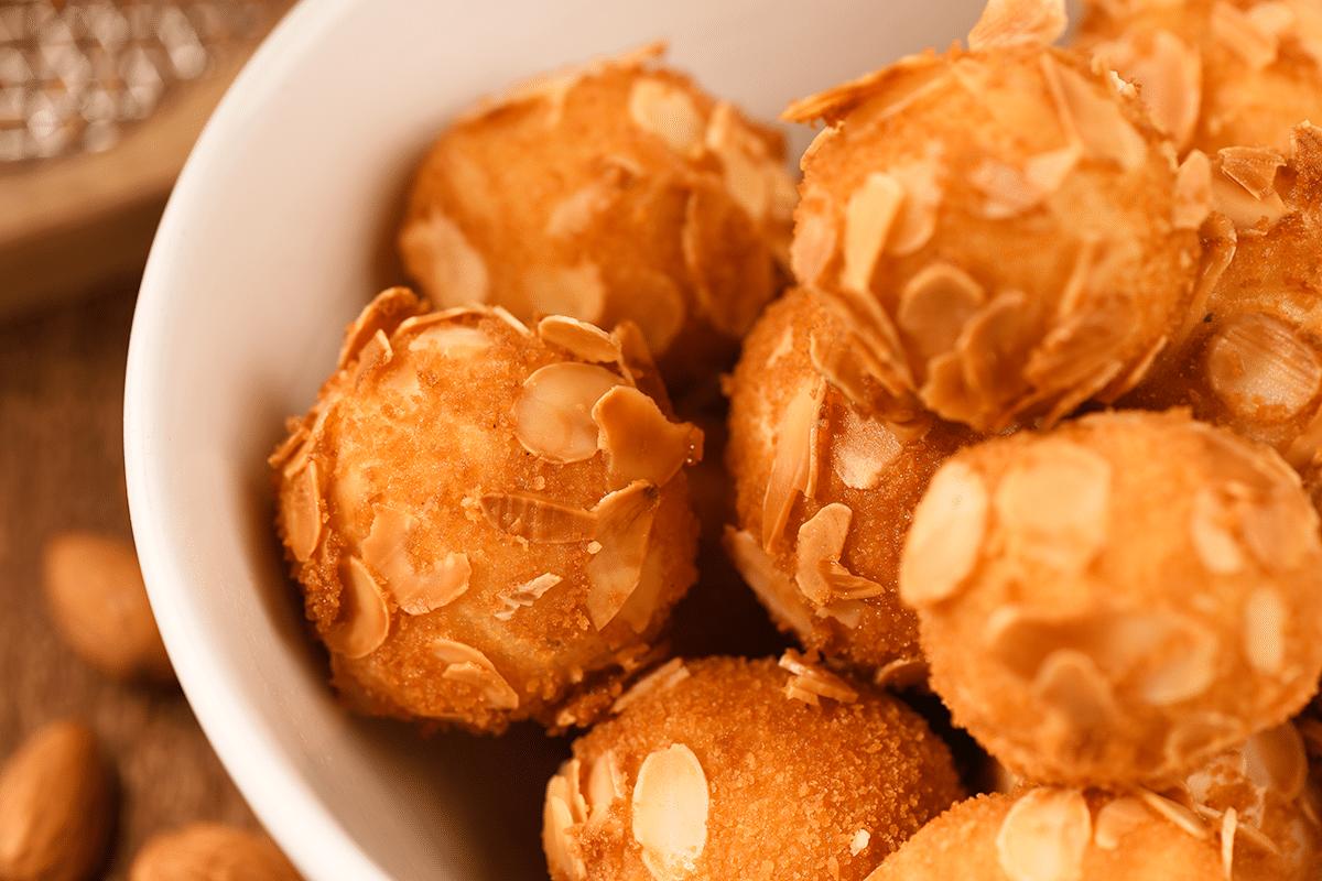Pommes de terre amandines