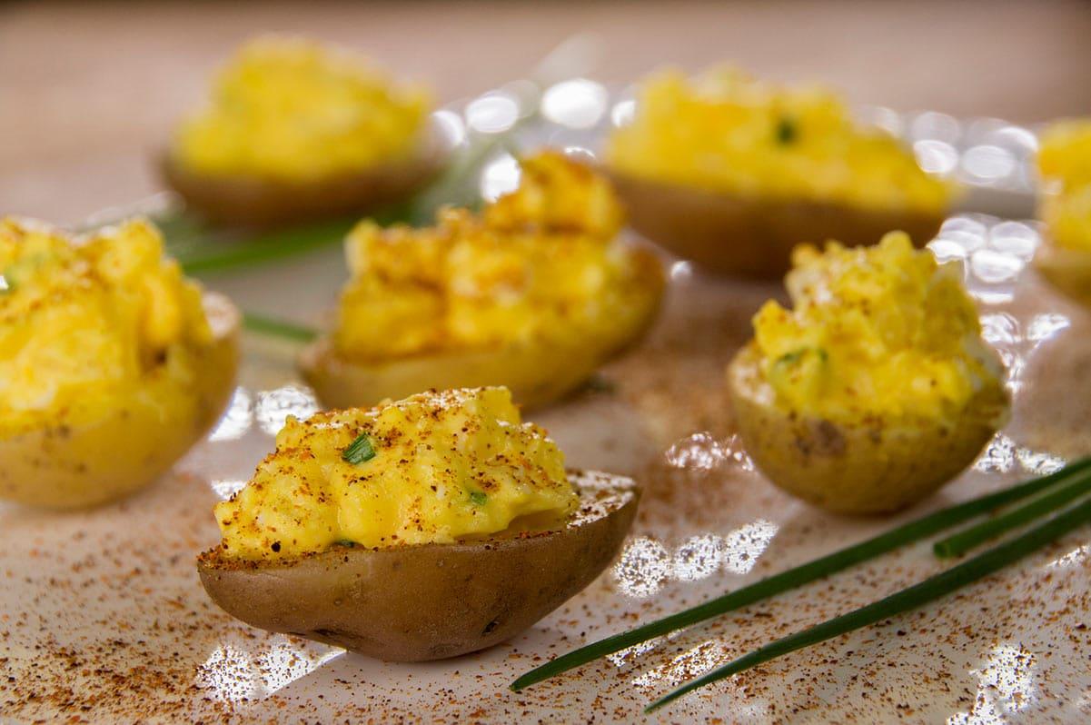 Pommes de terre mimosa
