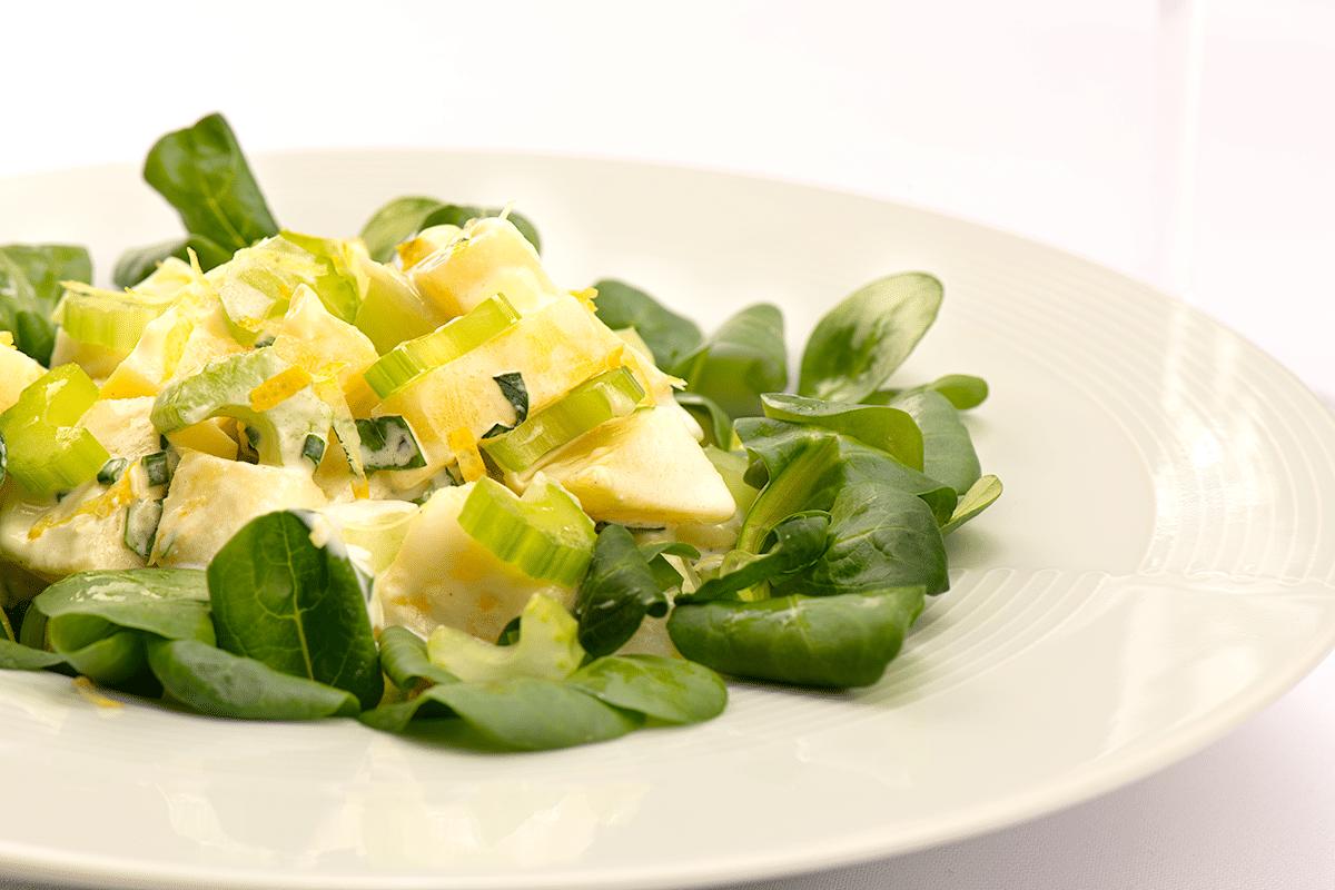 Salade de pomme de terre façon Ritz-Carlton
