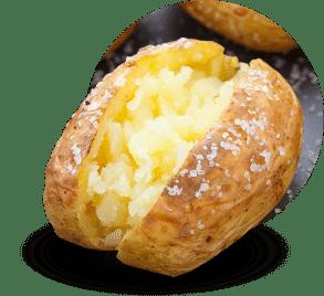 La chair de la pomme de terre